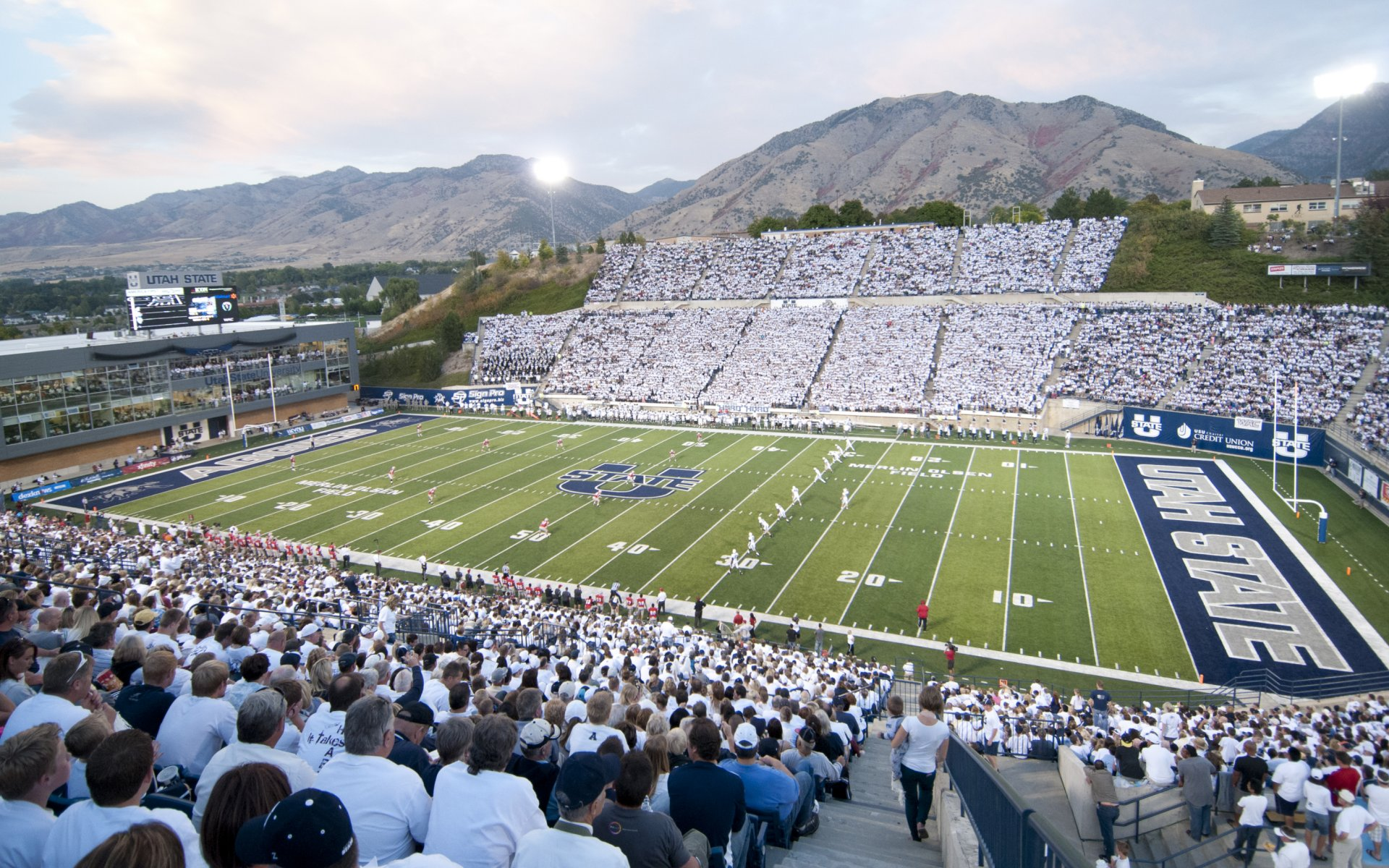 Mountain West Conference College Football Stadiums Wallpapers 1920x1200