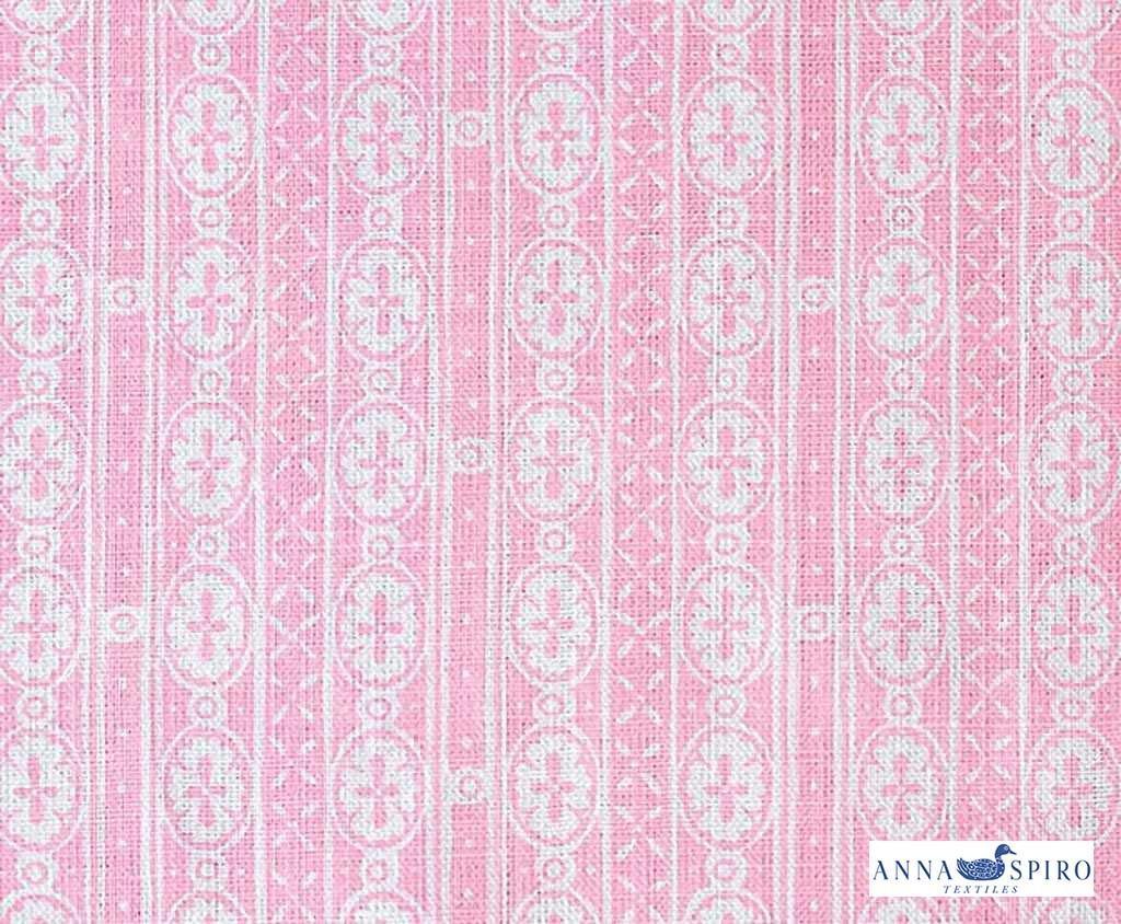 Anna Spiro   Kahuna Solid   Ks6   Light Pink   Curtain   Wallpaper 1024x844