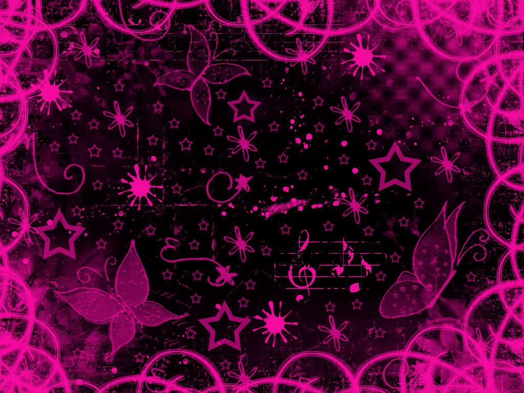 [47+] Pink Butterfly Wallpaper Desktop on WallpaperSafari