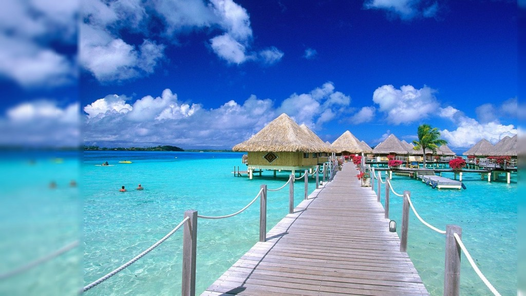 beach resort with this stellar animated beach wallpaper Download it 1024x576