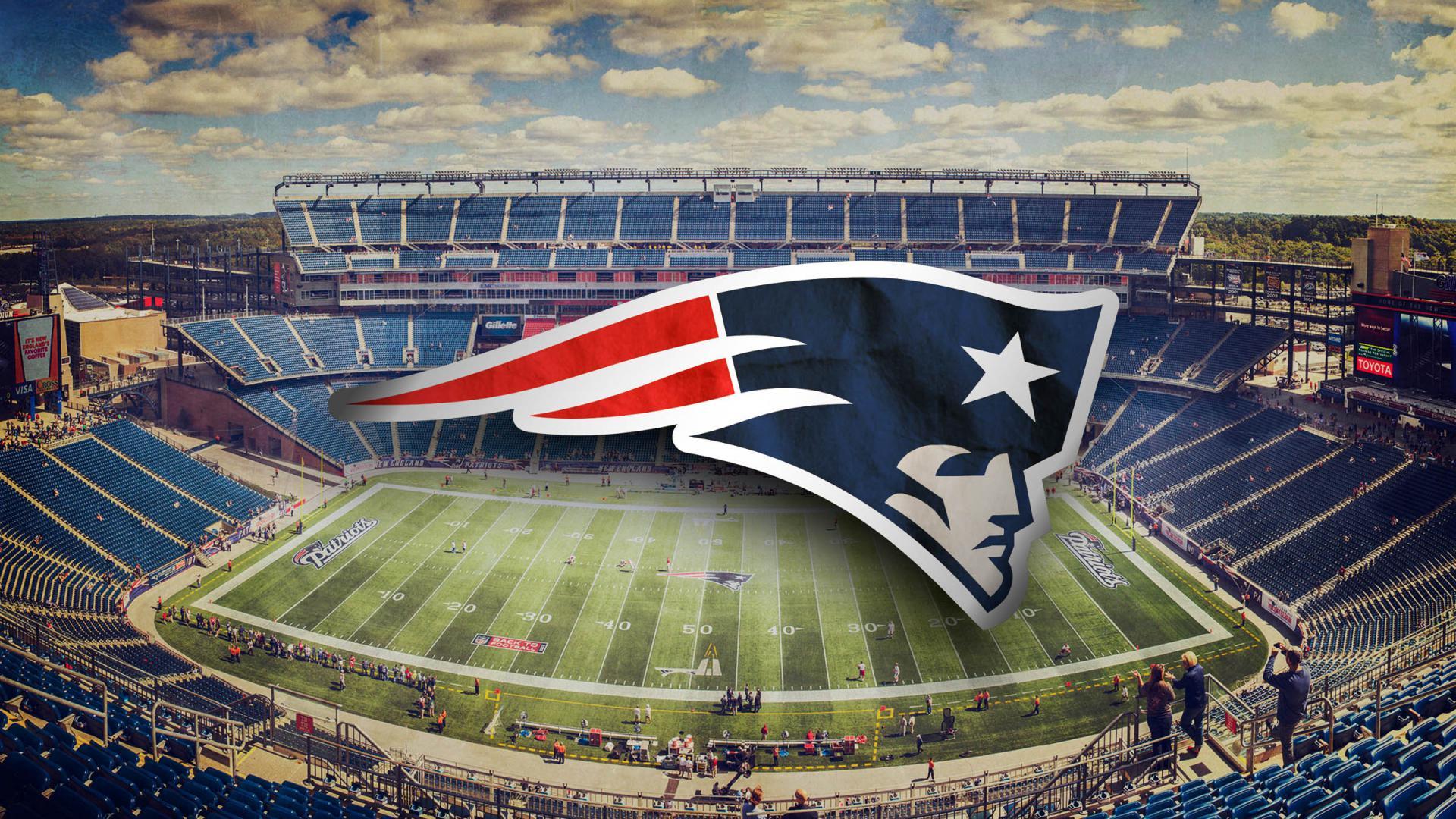 New England Patriots Wallpaper   Logo and Stadium Photo HD 1920x1080