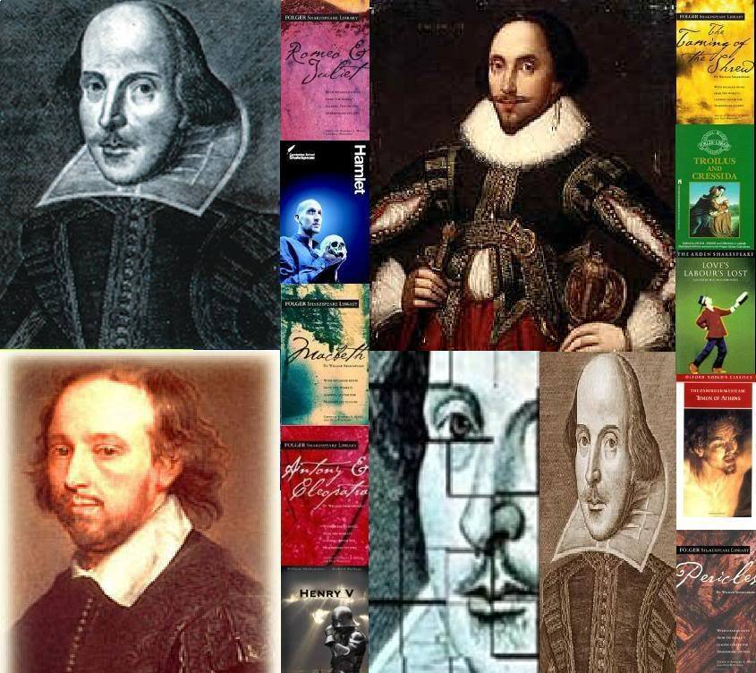 William Shakespeare images Shakespeare Collage HD fond dcran and 845x752