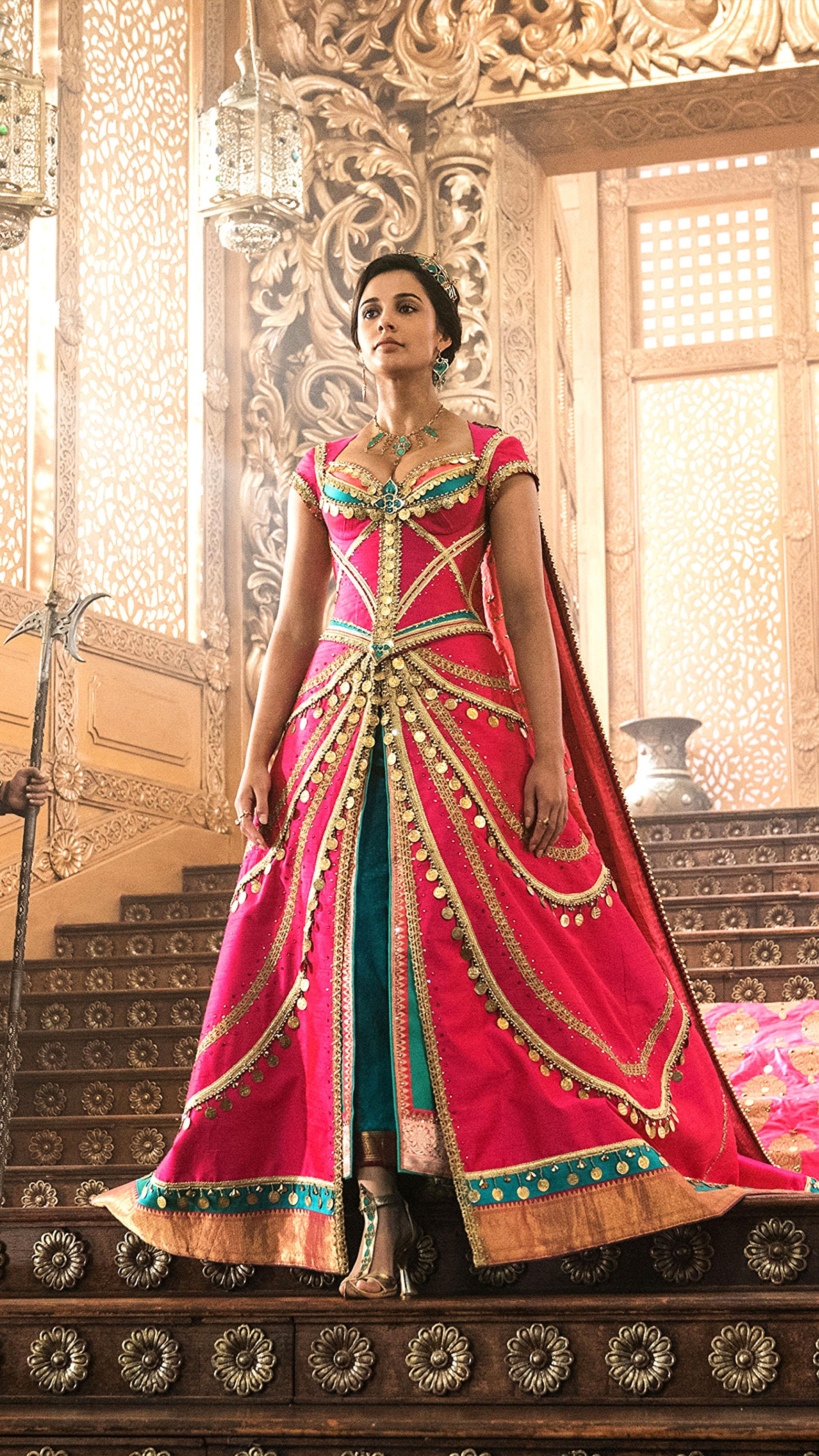 Download Princess Jasmine In Aladdin Naomi Scott Pure 4K 2160x3840