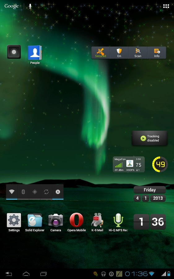 This is an Aurora Borealis Live Wallpaper by Z Prosto Team Its an 562x900
