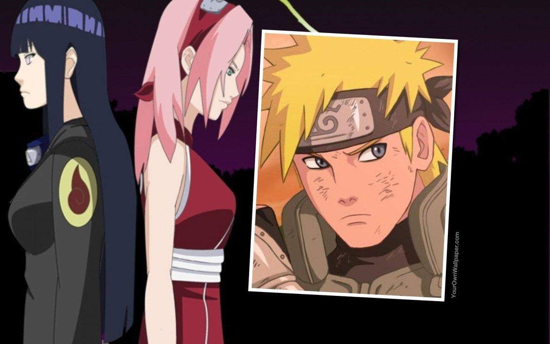 Naruto Sakura Hinata Wallpaper 3 by weissdrum 1131x707