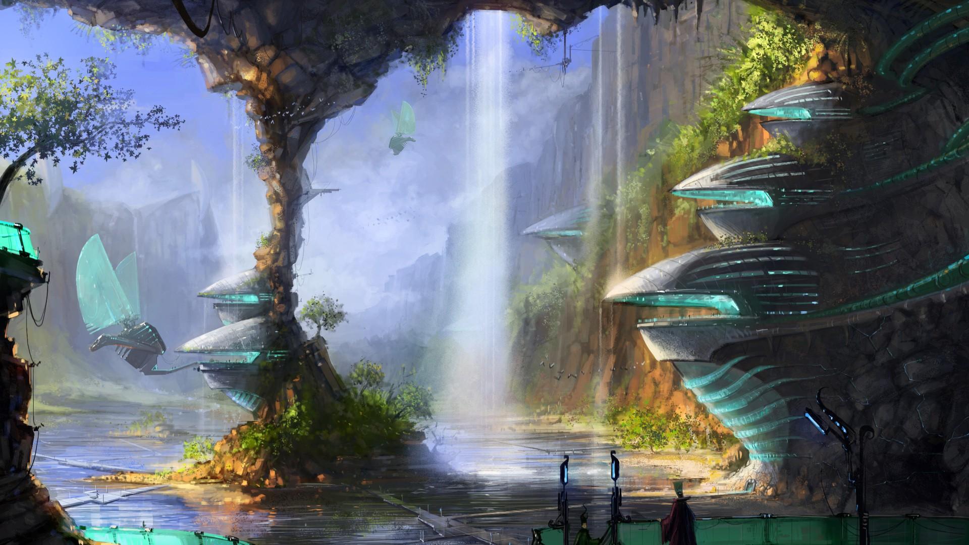 49 Wallpaper Science Fiction On Wallpapersafari
