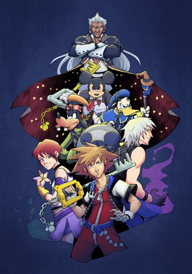 Kingdom Hearts 15 Wallpaper Kingdom hearts 15 hd by 747x1068