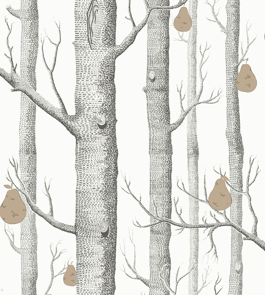 Woods And Pears Wallpaper by Cole Son Jane Clayton 900x1000