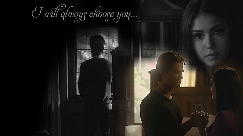 DeviantArt More Like Delena wallpaper Ill do anything by Laura7639 1024x576