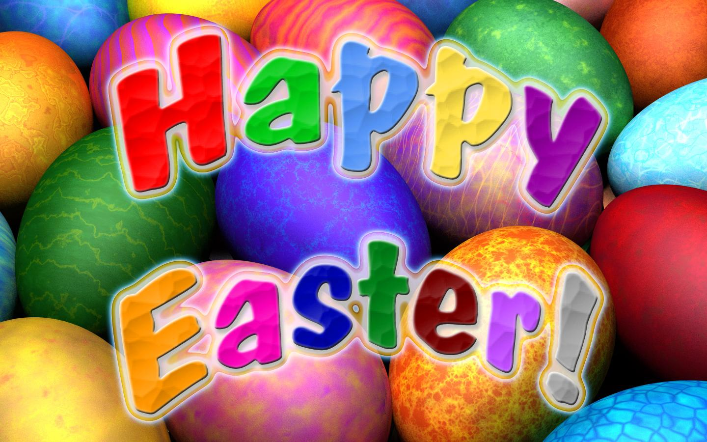 day happy easter to all and enjoy these nice easter backgrounds 1440x900