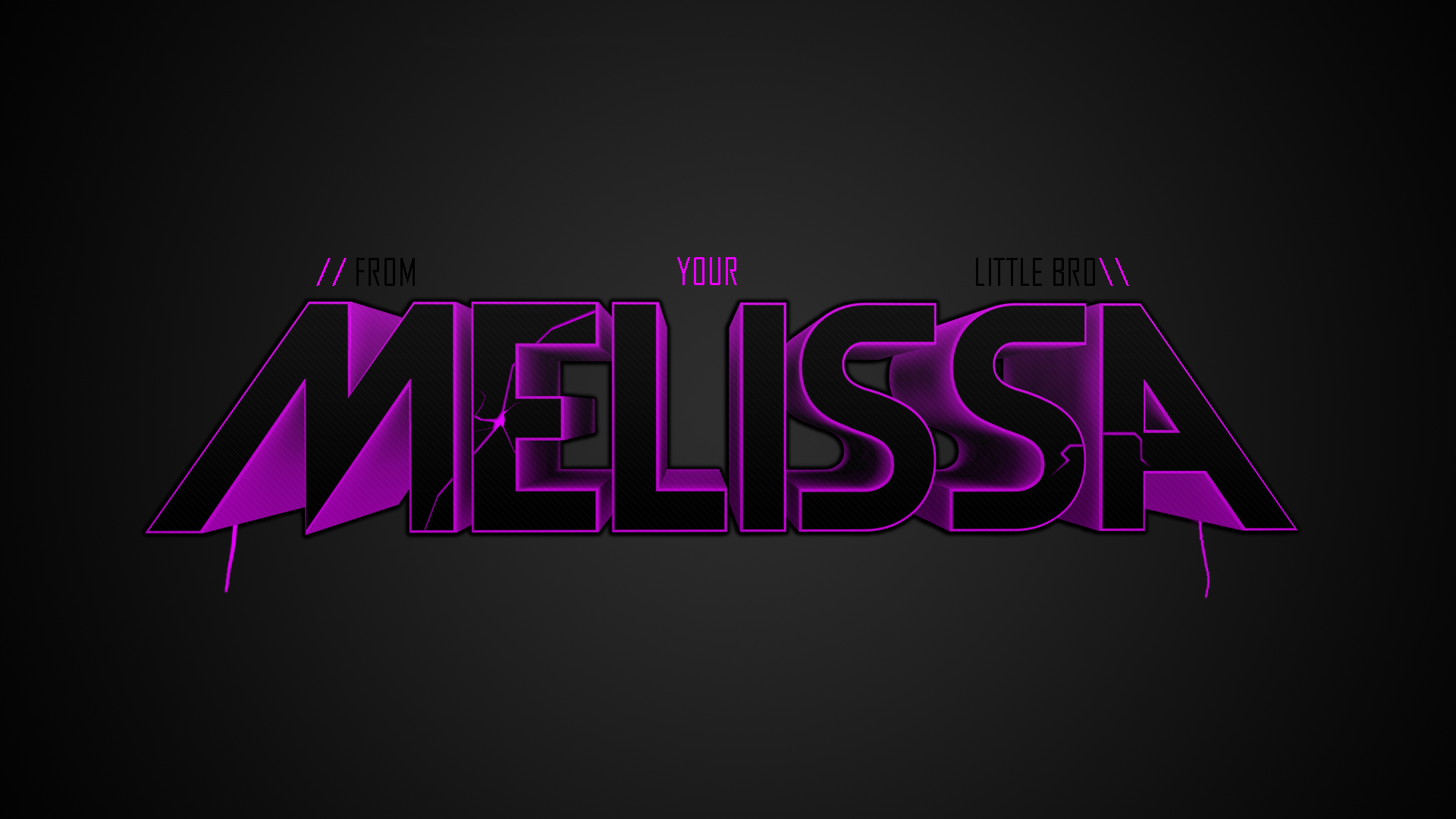 Name Melissa Wallpaper Wallpapersafari