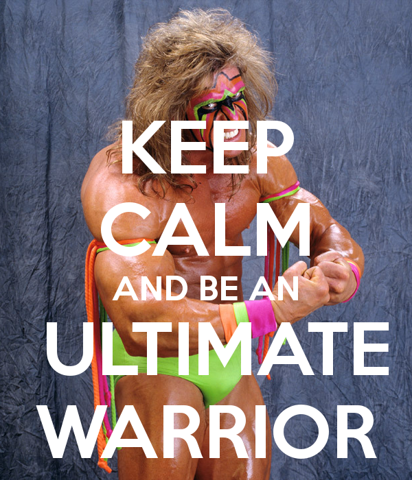 Ultimate warrior iphone wallpaper
