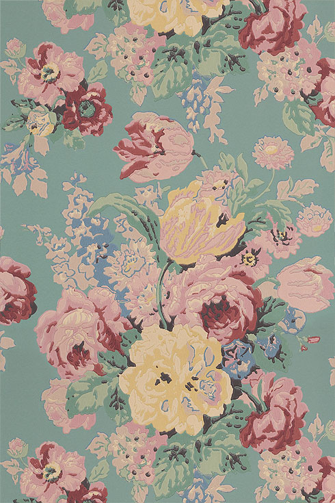 Buy Anna French wallpaper online   Wild Flora Wallpaper 490x735