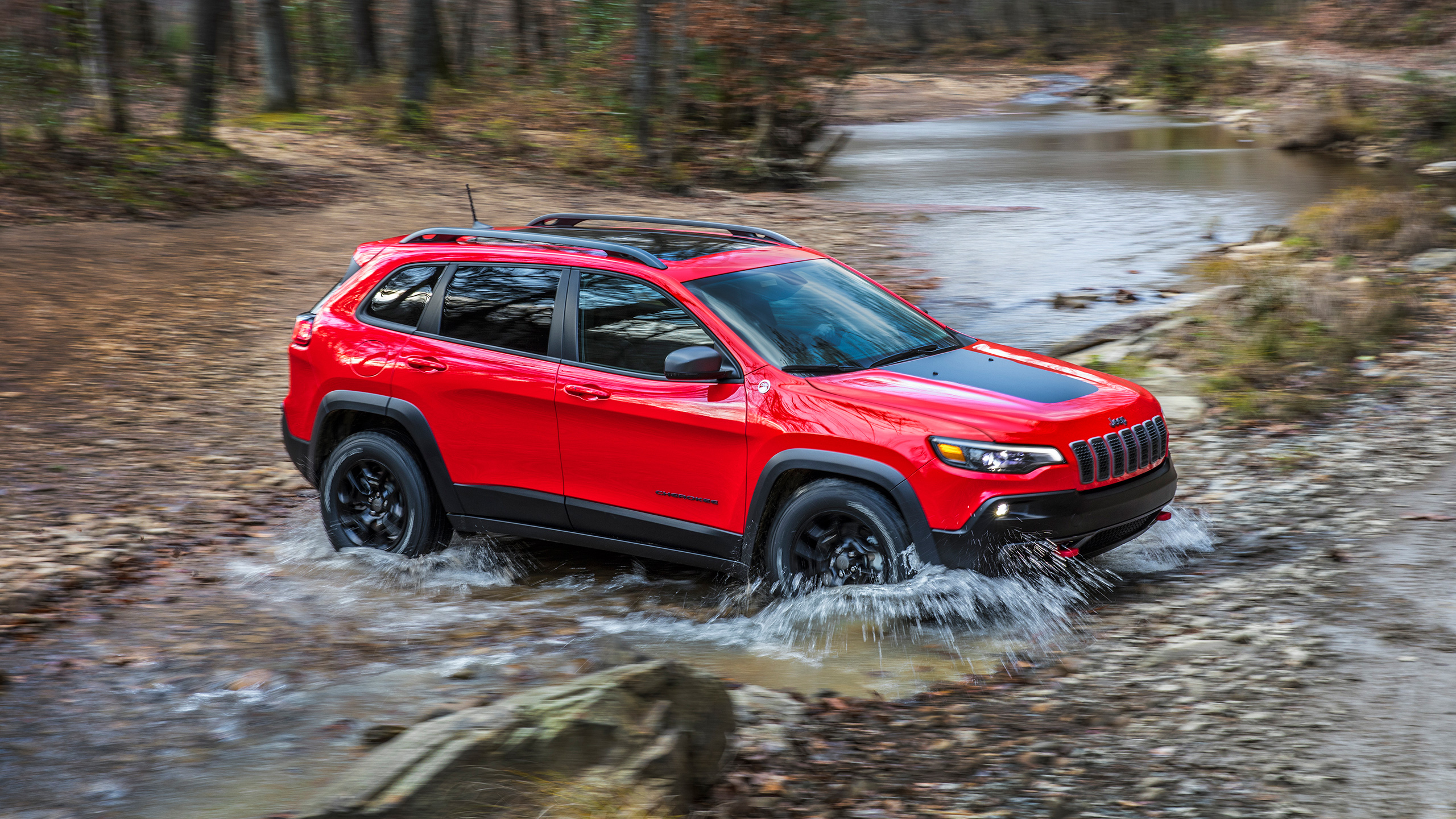 2019 Jeep Cherokee Trailhawk 2 Wallpaper HD Car Wallpapers ID 2560x1440