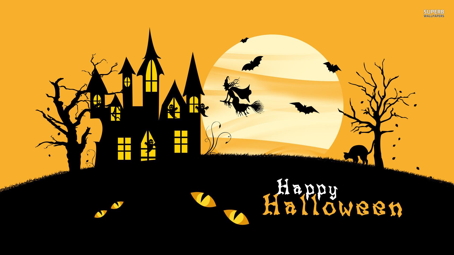 Desktop Wallpaper Happy Halloween h441606 Holidays HD Images 1920x1080