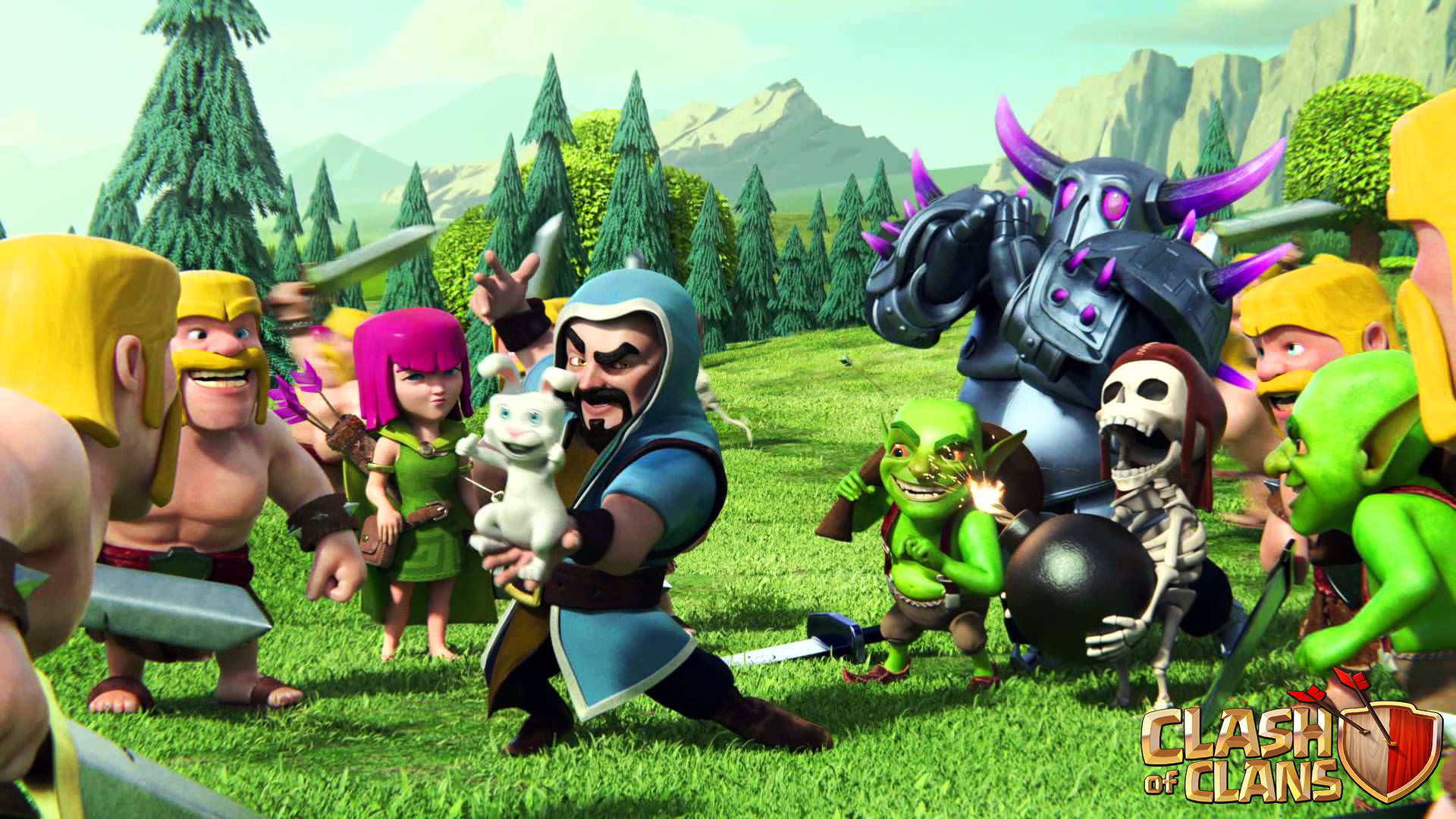 Clash Of Clans 1920x1080