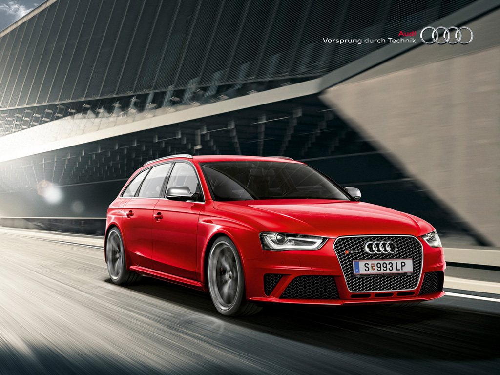 2014 Audi RS4 High Resolution Wallpaper Image Detail 1024x768