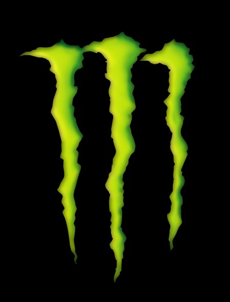Monster Energy Drink Logo in 3D Wallpaper for Amazon Kindle Fire HD 7 450x590