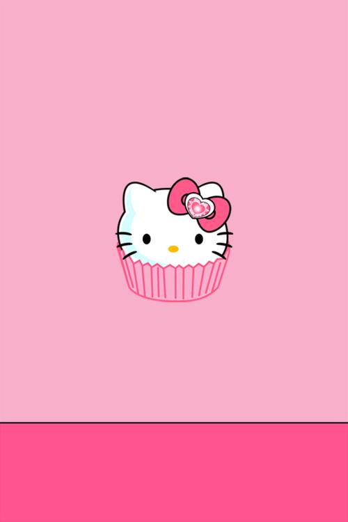 wallpaper iphone 5 pink kitty - photo #39