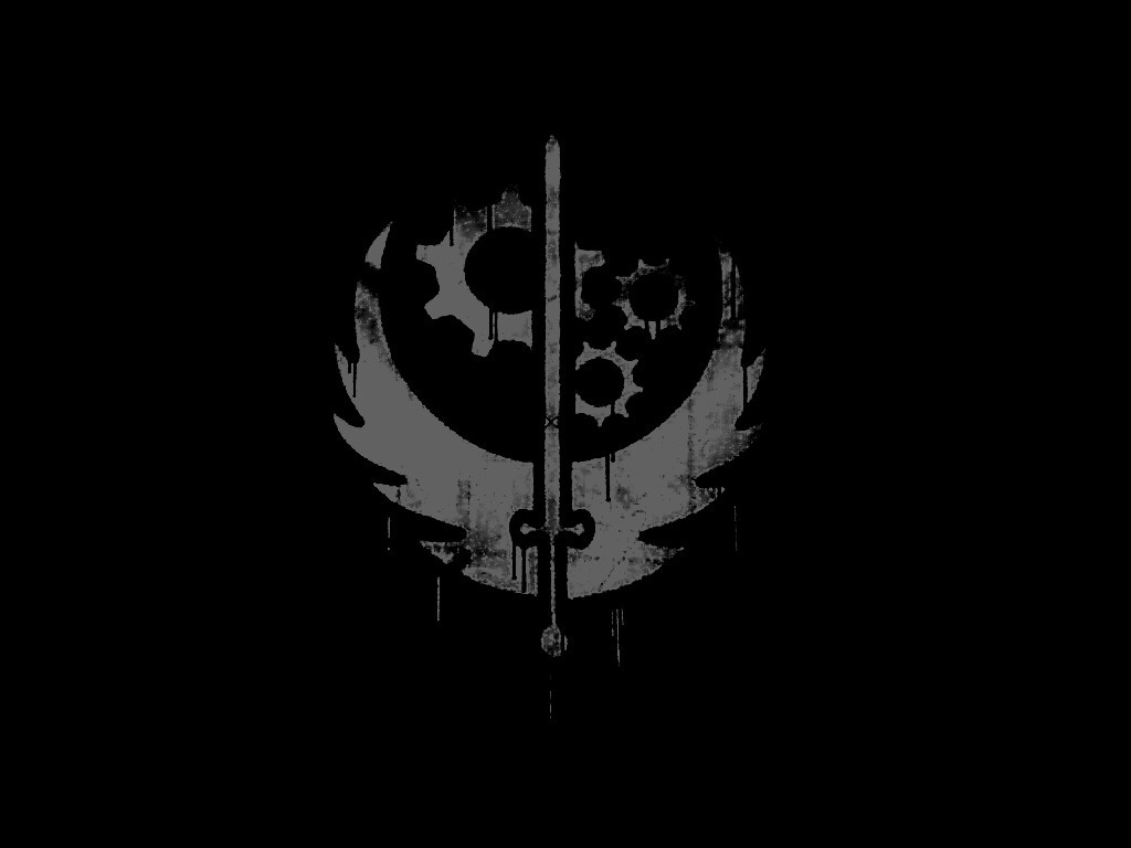Fallout 3 Wallpaper Brotherhood Of Steel 4477 Hd Wallpapers in Games 1024x768