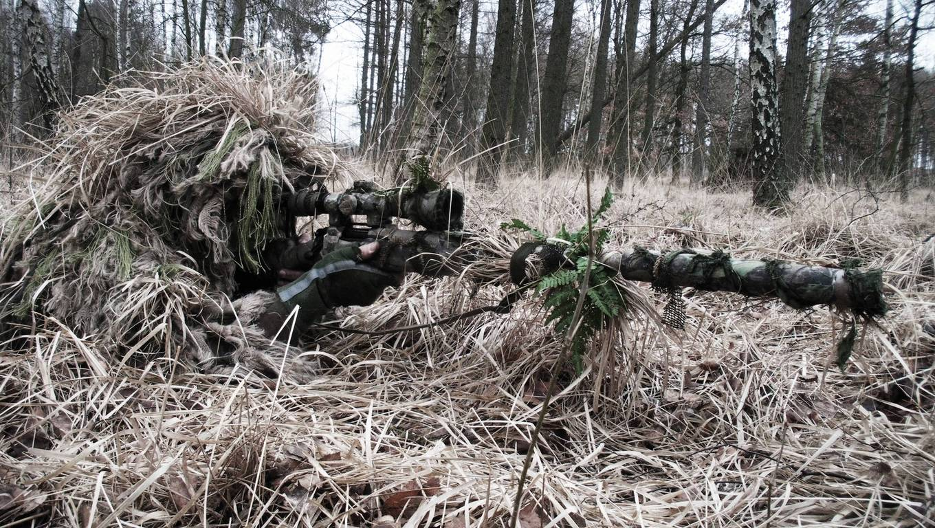 Sniper Wallpaper Hd Images Pictures   Becuo 1360x768