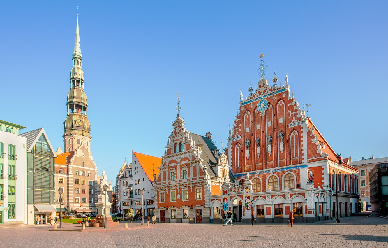 Wallpaper Old Town Riga Latvia images for desktop section 1332x850