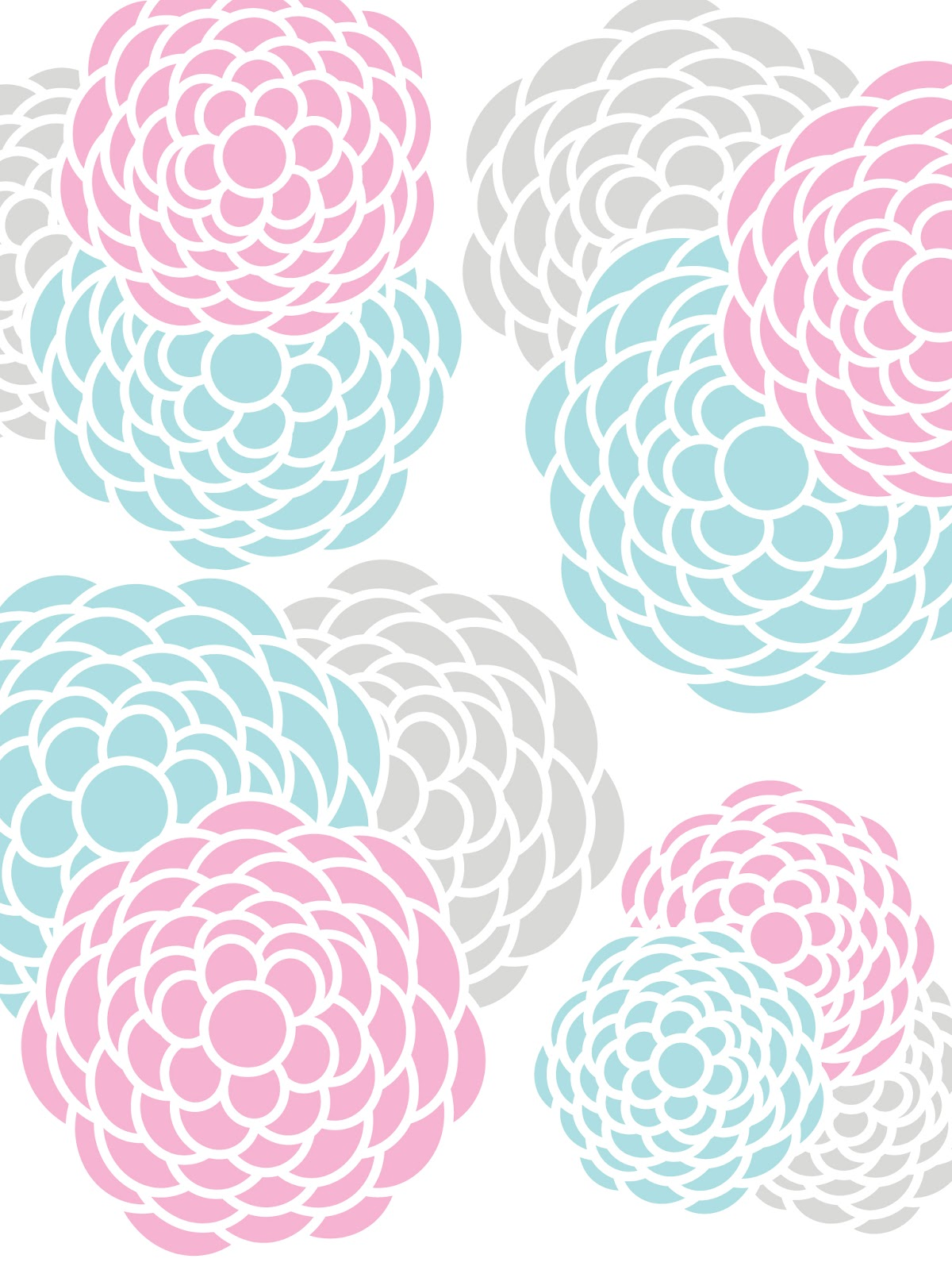 Pink And Grey Wallpaper Wallpapersafari