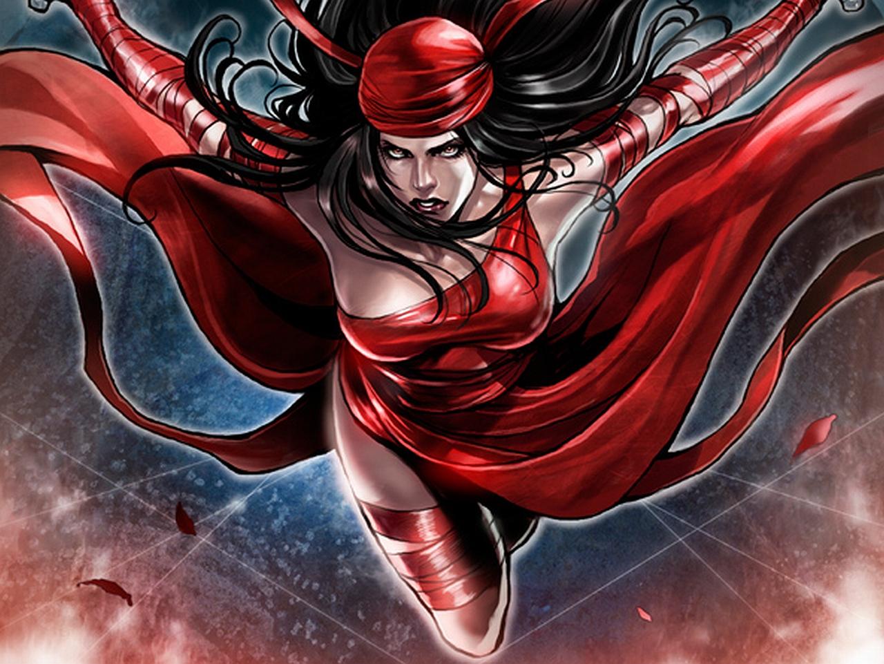 download Comics Elektra Wallpaper [1280x961] for your Desktop 1280x961