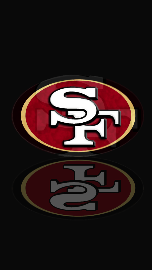 2013   Download San Francisco 49ers HD Wallpapers for iPhone 5 640x1136