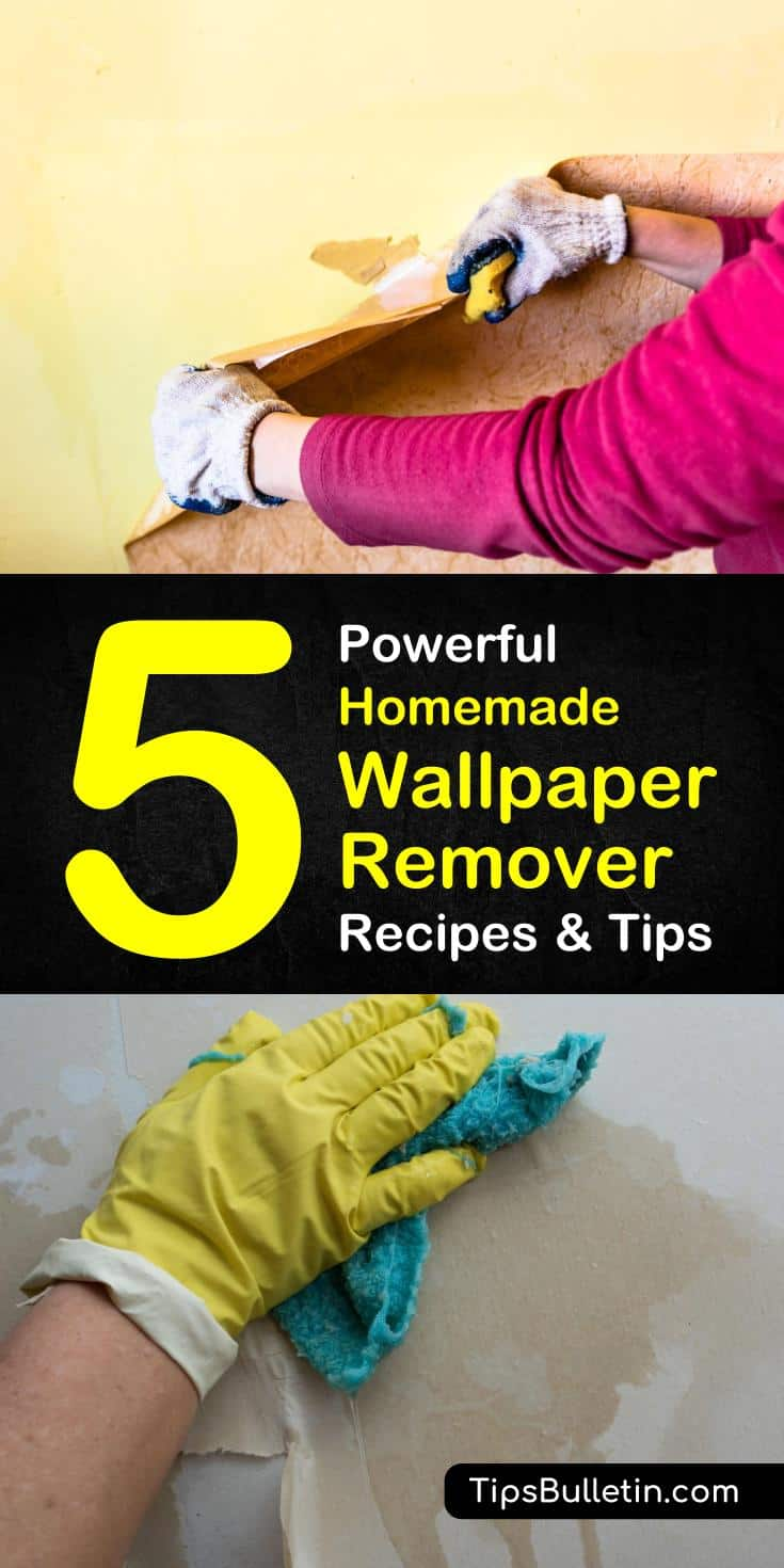 Homemade Wallpaper Remover Recipes 5 Tips For Easily Removing 735x1470