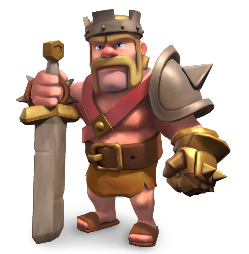 Barbarian King   guide to heroes in Clash of Clans Features Clash 807x821