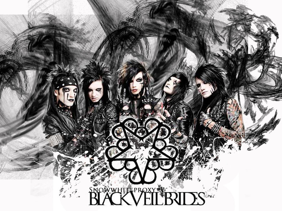 Black Veil Brides Wallpaper by EVFanKayda1020 900x675