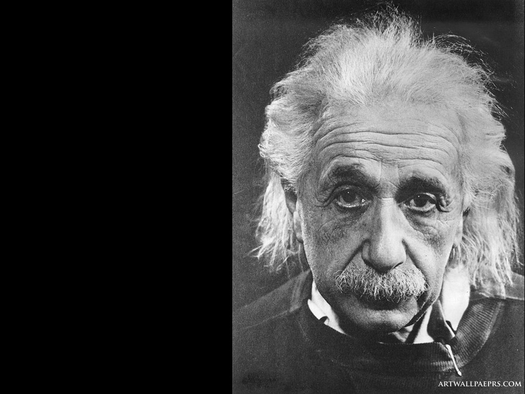 1024x768px albert einstein wallpapers hd wallpapersafari - Albert einstein hd images ...