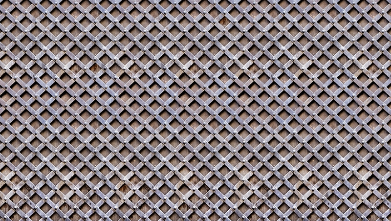 Metal Trellis grid like digital home wallpaper M8968 800x452