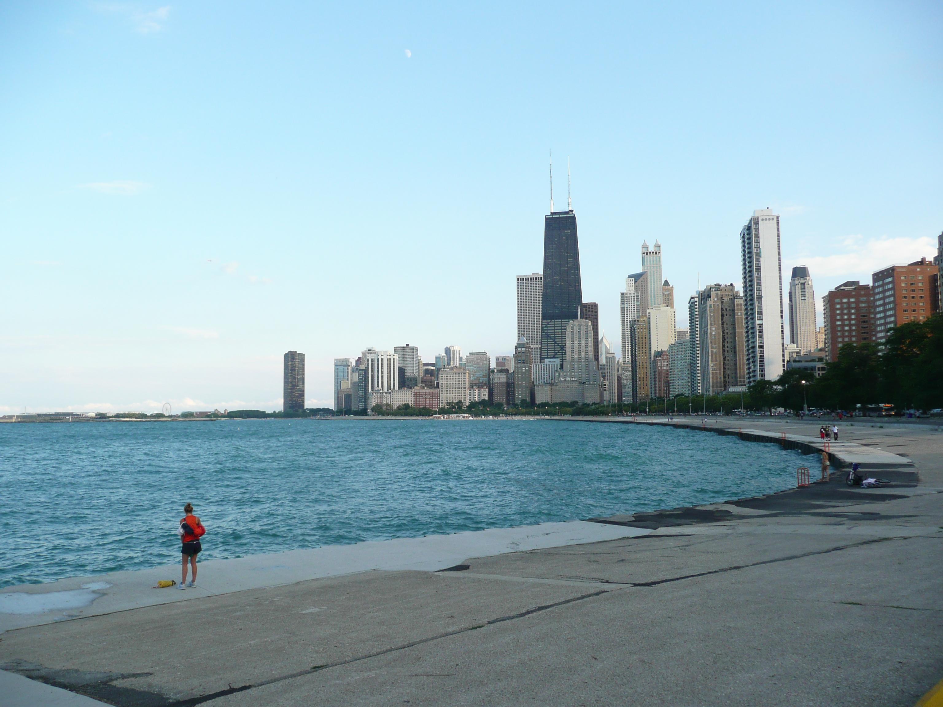 Chicago Lakefront Wallpaper Wallpapersafari