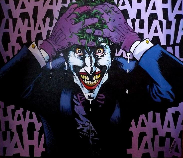 The Killing Joker by sullen skrewt 734x633
