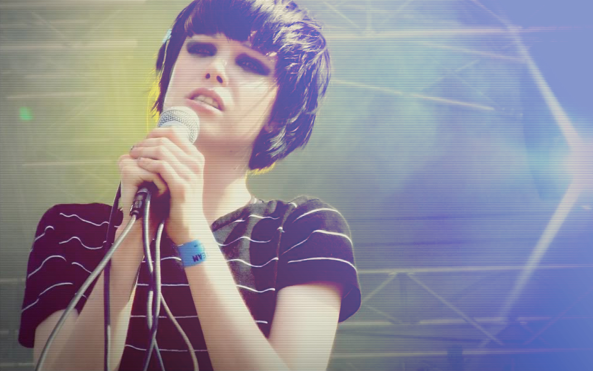 Crystal Wallpaper 1920x1200 Music Crystal Castles Alice Glass 1920x1200