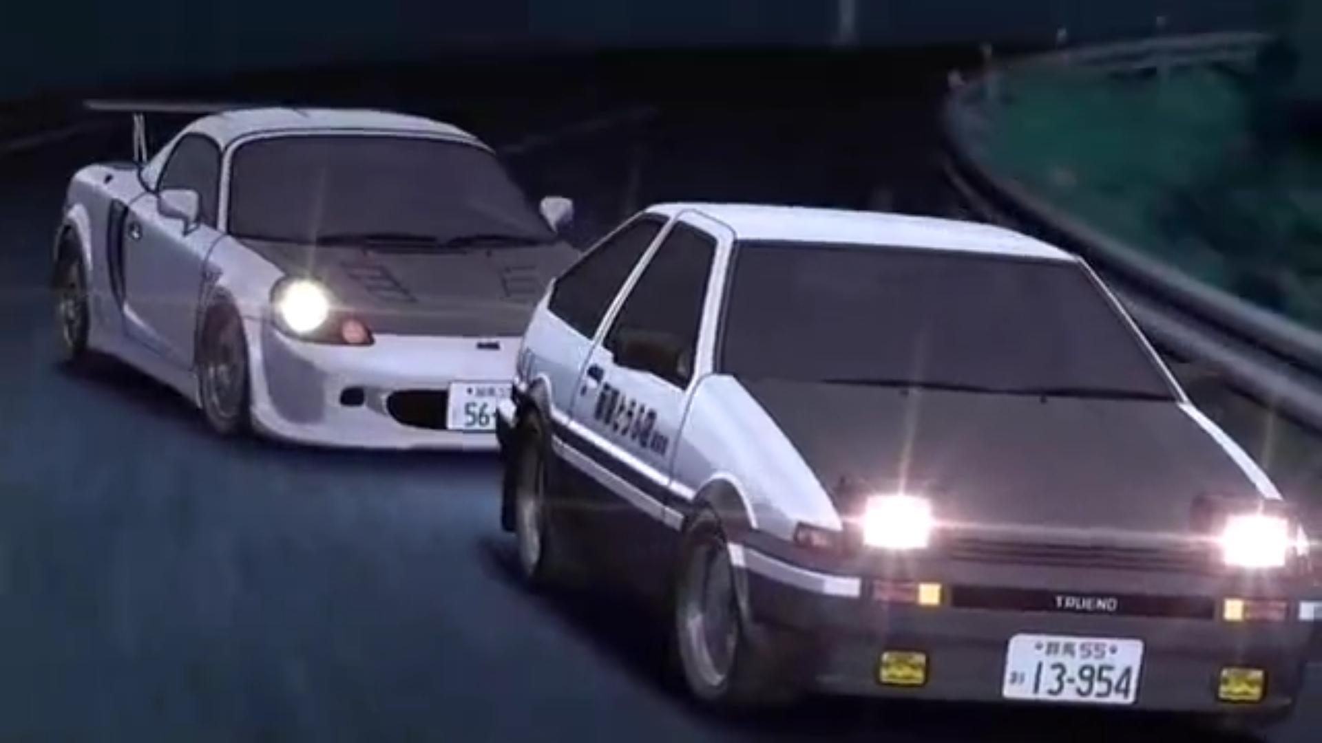 Wallpapers Initial D 1920x1080