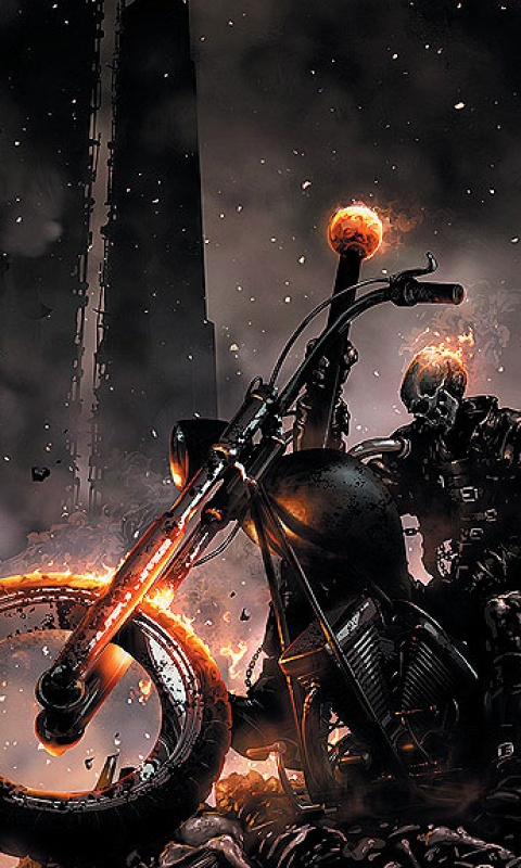 free 480X800 ghost rider 480x800 wallpaper screensaver preview id 480x800