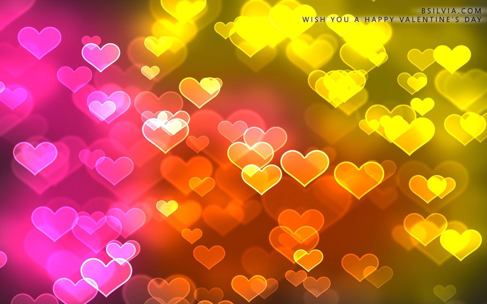 1680x1050 Wish you a happy Valentine desktop PC and Mac wallpaper 1680x1050