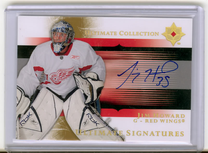 Jimmy Howard 20052006 Upper Deck Ultimate Collection Ultimate 800x588