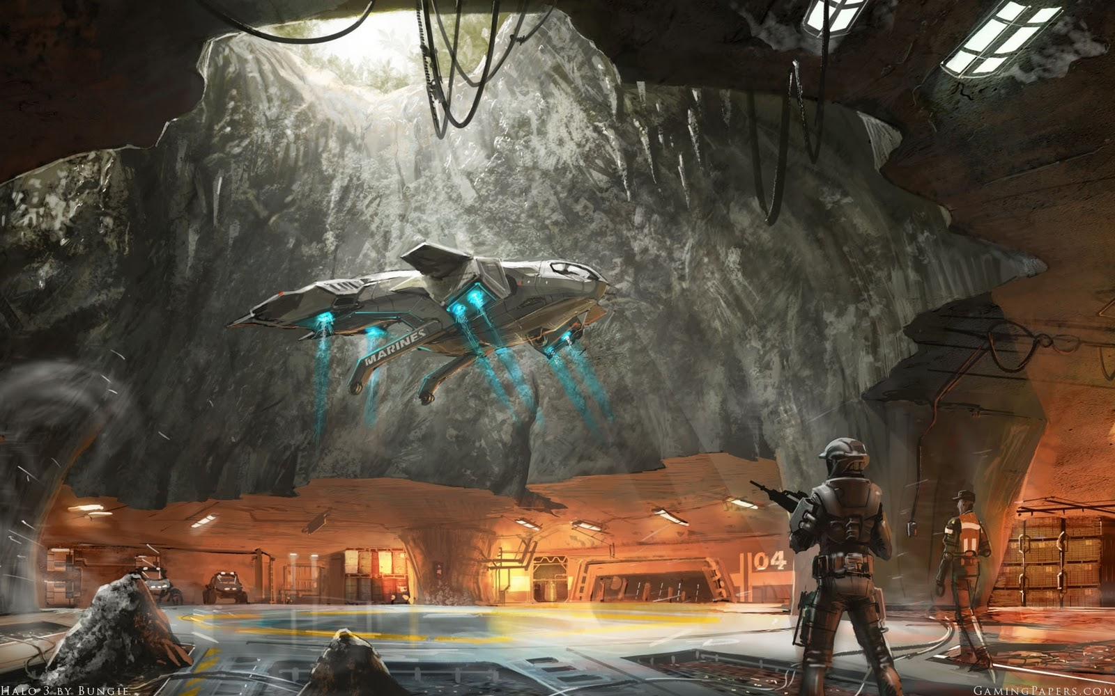 Cyrus Halo blog Halo 3 wallpaper 1600x1000