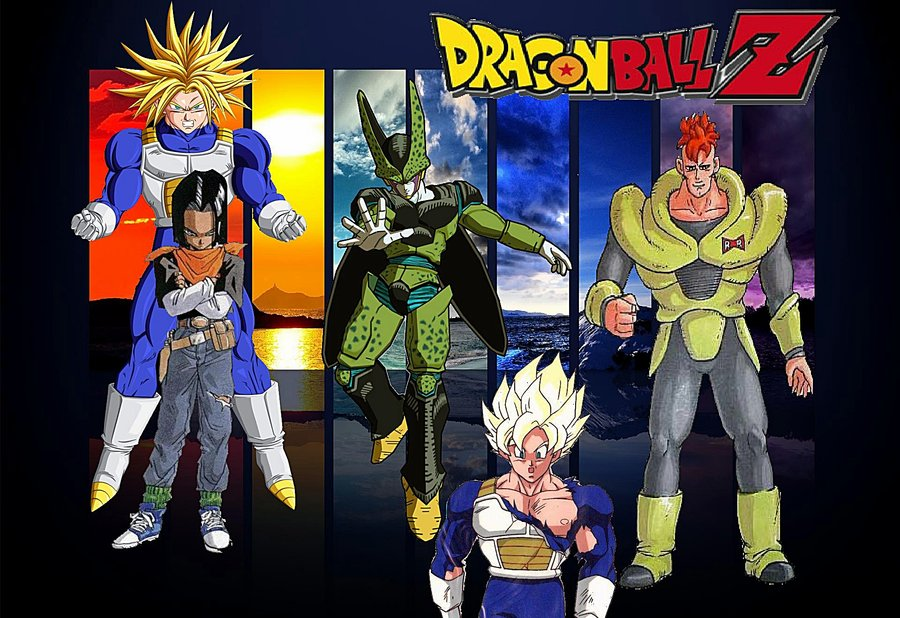 DBZ Wallpaper Cell Saga by rkq 900x618