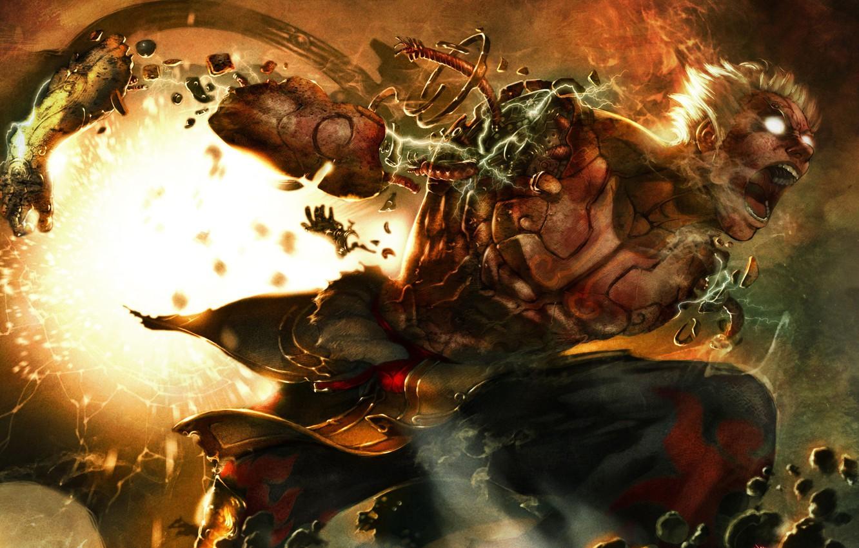 Wallpaper game anime asuras wrath half god images for desktop 1332x850