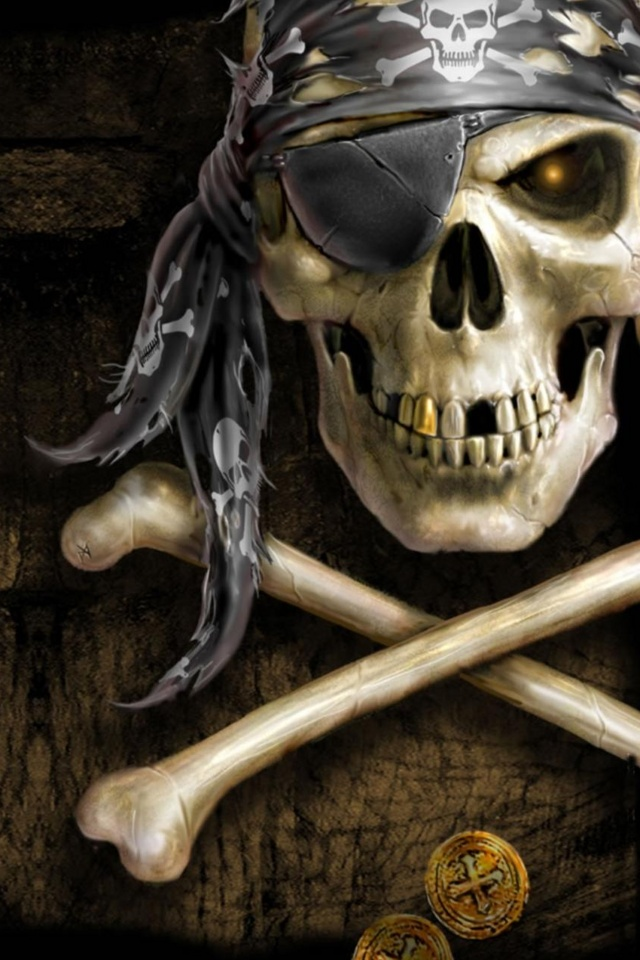 free 640X960 Skull 640x960 wallpaper screensaver preview id 110326 640x960