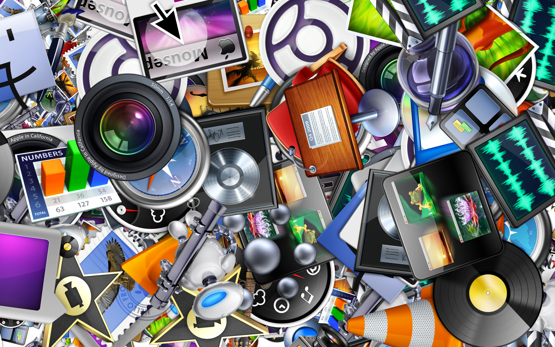 Free Download Apple Application Icons Wallpaper Wallpaper