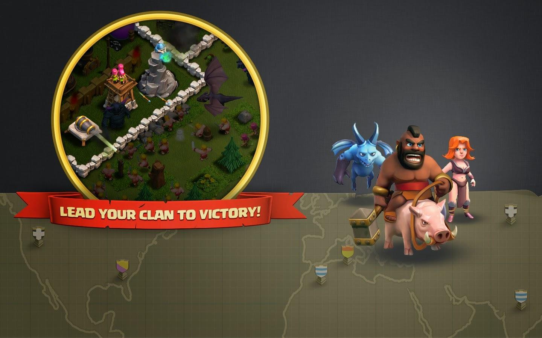 Minion Hog Rider and Valkyrie Clash of Clans Dark 1440x900