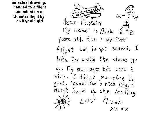 Quantas Airline Joke   Funny Humor Wallpaper 500x400