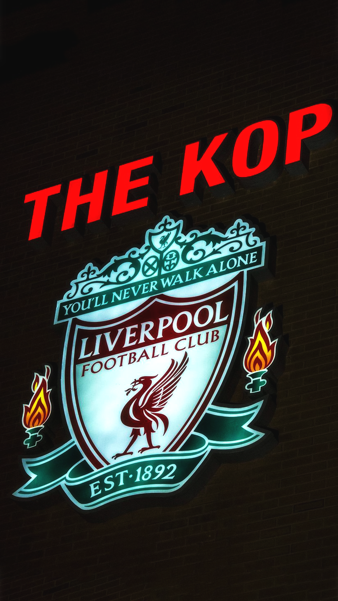 Liverpool FC Photos on Twitter   The Kop iPhone Wallpaper https 675x1200