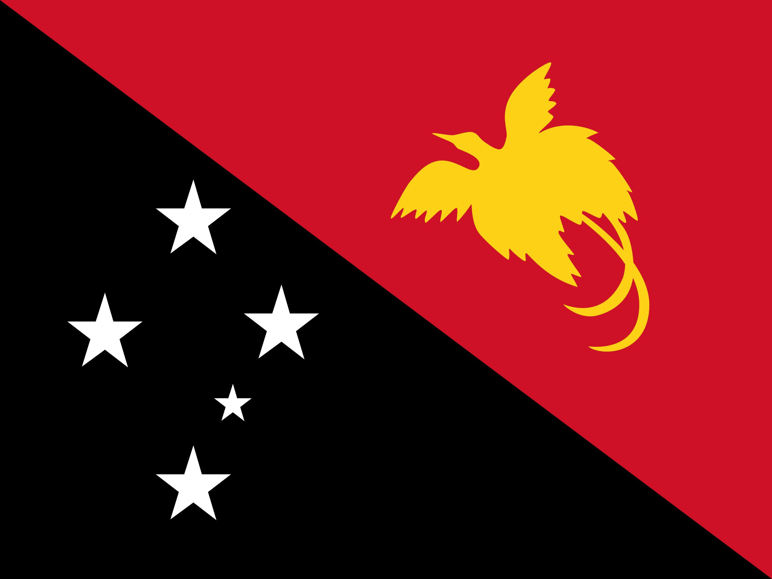 Papua New Guinea Countries Flag Wallpaper HD 8298   Ongur 2560x1920